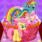 Làm bánh cupcake Pony