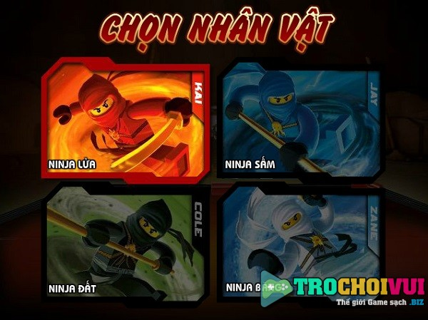 game Ninjago quyet dau 3 2013 2014