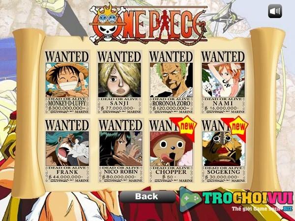game One Piece phieu luu 3 1 nguoi