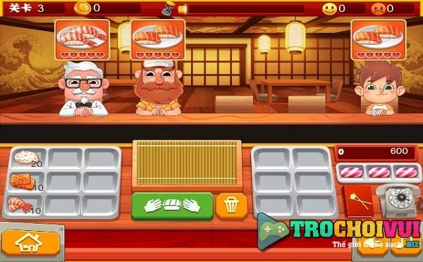 game Sushi Master fun kitchen