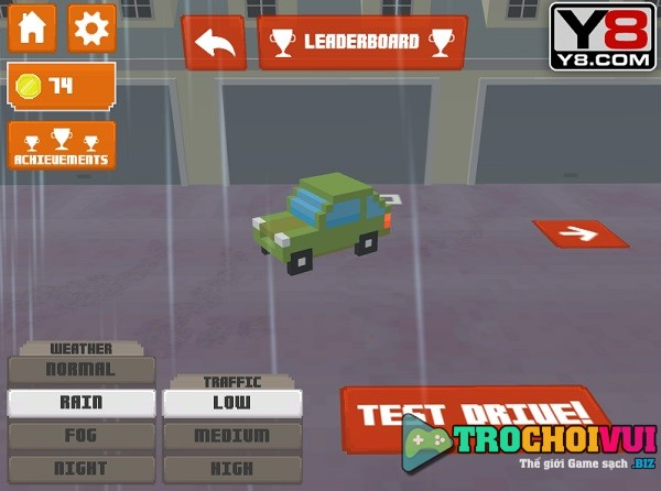 game Taxi thanh pho 3D don khach