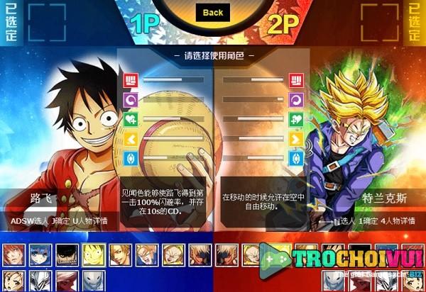 game Anime battle 3 vui game