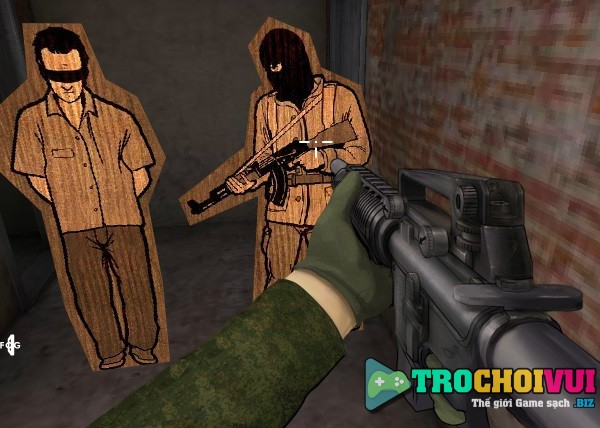 Game Army training online tren may tinh