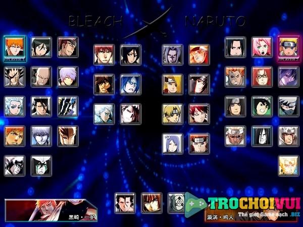 game Bleach vs Naruto 3.0 online