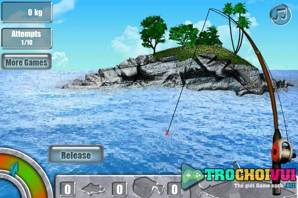 game Cau ca map 3D y8