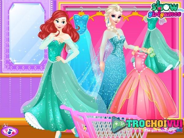 game Cua hang quan ao thoi trang cua Elsa