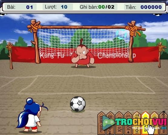 game Doi bong thieu lam mien phi