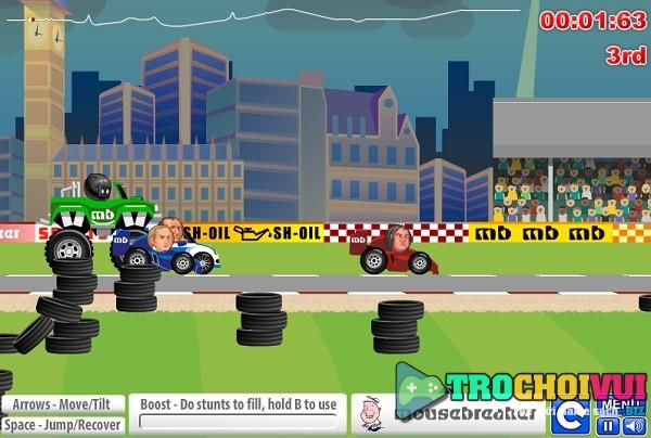 game Dua xe dau to online offline