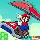 Đua xe máy bay Mario
