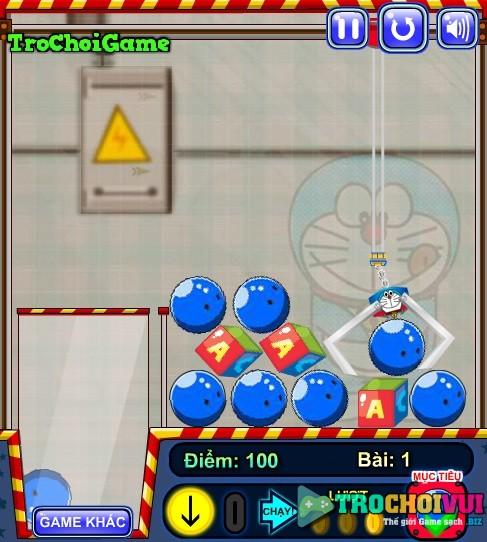 game Gap thu nhoi bong Doremon hay nhat