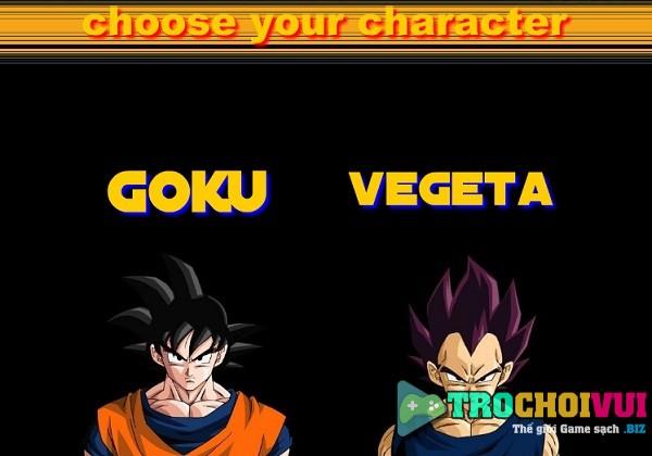 game Goku vs Vegeta danh nhau