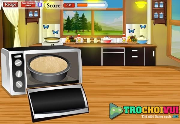 game Lam banh dau rung cuc ngon