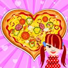 Làm bánh pizza trái tim