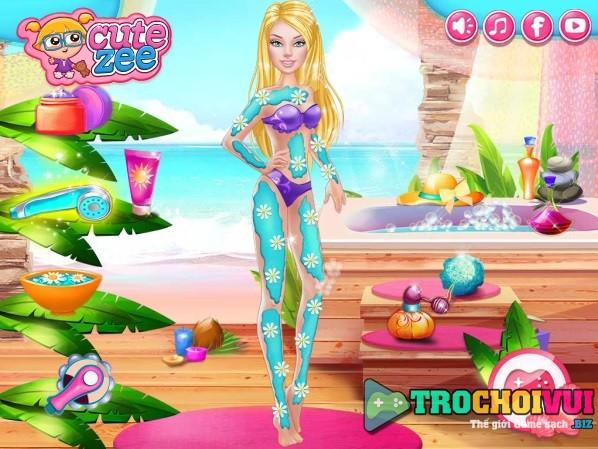 game Lam dep cho bup be Barbie online 24h y8