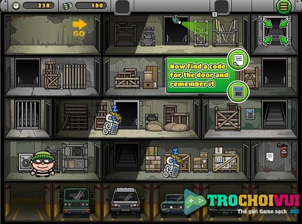 game Sieu trom bob the robber 4