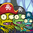 game Zombie cuop bien pirates slay