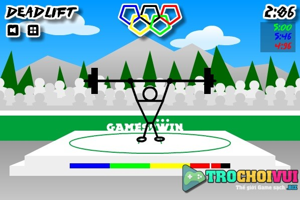 game the van hoi Olympic nguoi que