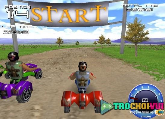 Choi game Dua xe 3 banh