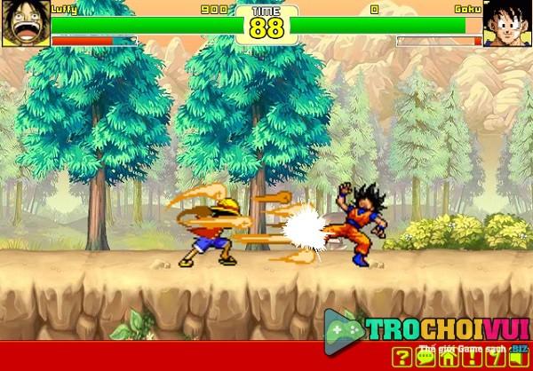 game Goku vs Naruto vs Luffy vs Ichigo one piece