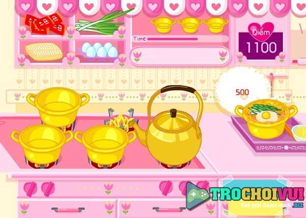 game Nau mi tom trung han quoc
