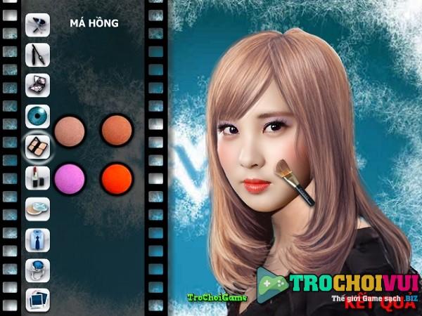 game Trang diem cho nguoi that noi tieng han quoc 2