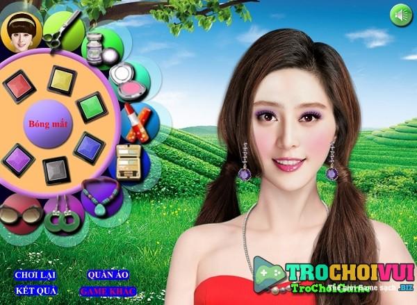 game Trang diem nguoi that trung quoc cham diem