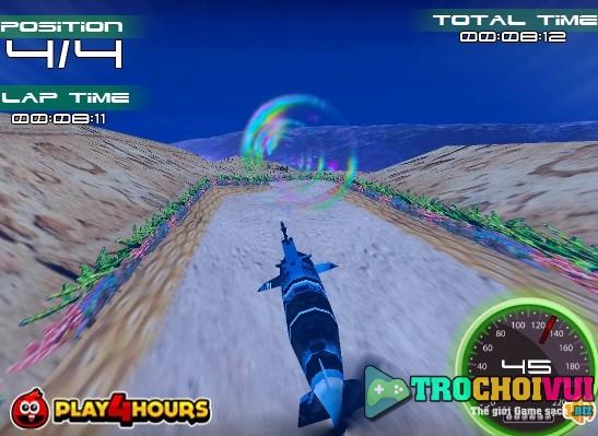 game Dua tau ngam 3d online 24h y8