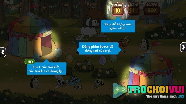 game Le phuc sinh cua chung toi finn jake gumball darwin