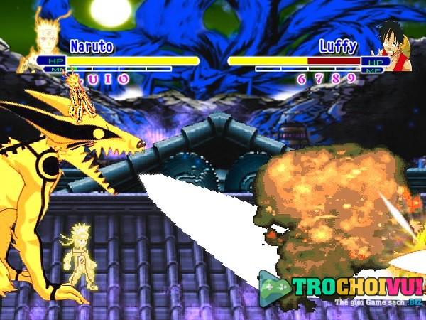 game Luffy vs Naruto online