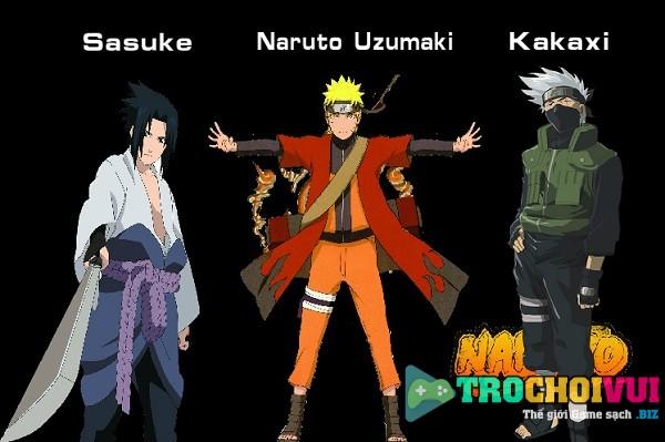 game Naruto cuu vi danh nhau quyet dau