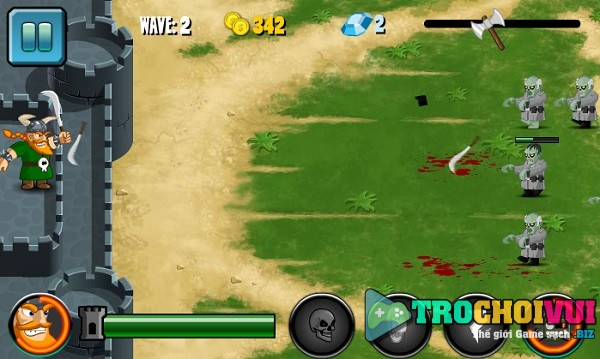 game Phong thu zombie online offline hay nhat y8 24h
