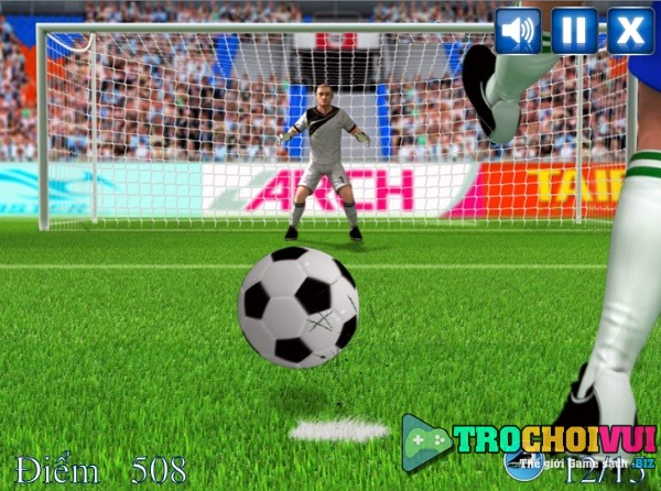 game Sut phat den penalty luan luu 11 met