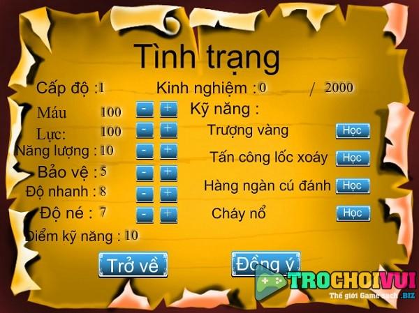 game Ton ngo khong danh nhau truyen ky