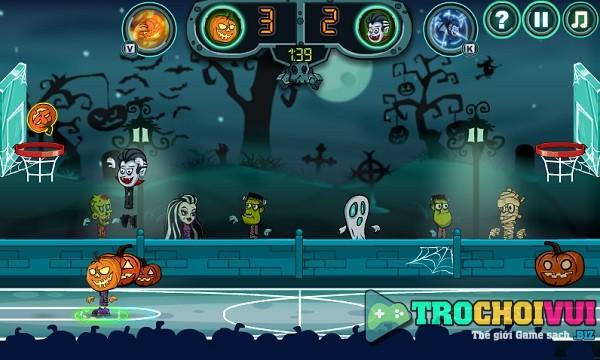 game Bong ro halloween 2 nguoi choi