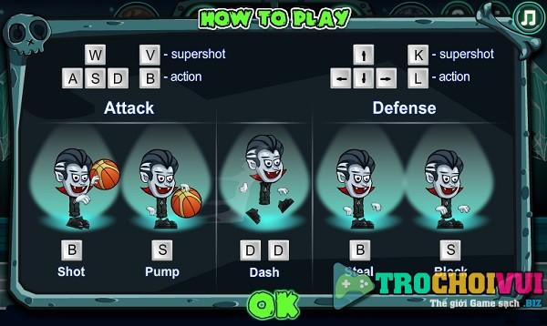 game Bong ro halloween basketball legends