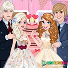 Đám cưới của Elsa và Anna