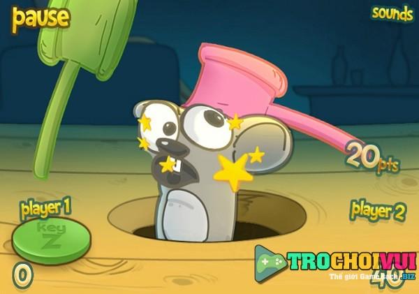 game Dap chuot 2 nguoi choi
