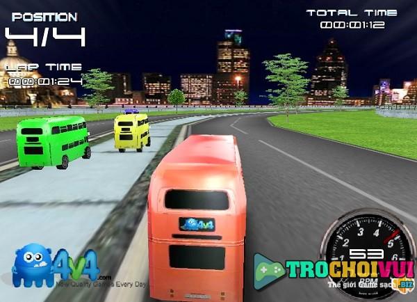game Dua xe buyt 2 tang 3d online offline