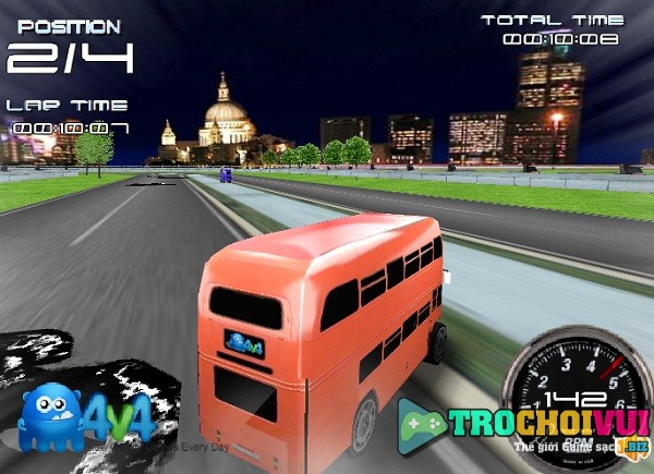 game Dua xe buyt 2 tang giuong nam cao cap