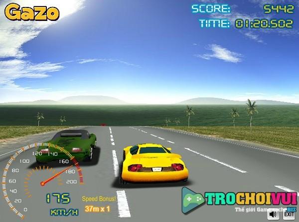 game Dua xe oto 4 banh duong truong 24h 3d