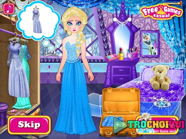 game Elsa chia tay Jack frost