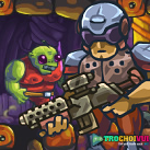 game Hanh tinh zombie 3 zombotron 2 time machine