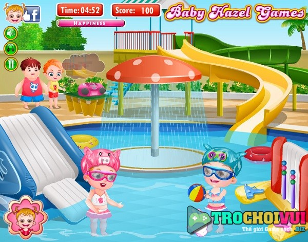 game Hazel di choi cong vien nuoc online mien phi hay nhat