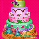 Làm bánh sinh nhật 5 tầng