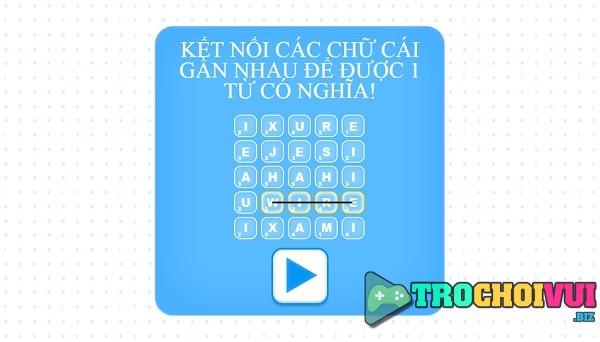 game Noi chu tieng anh tren facebook