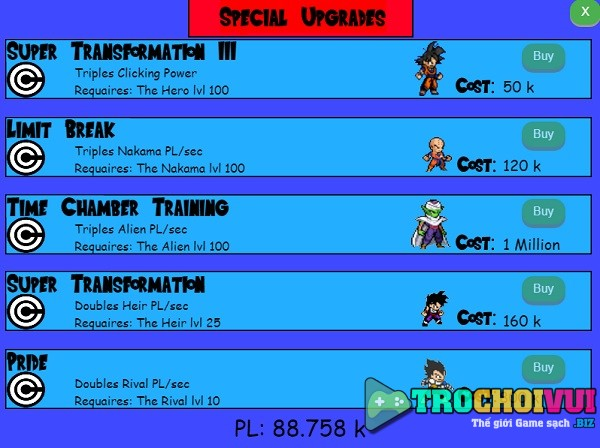 game Qua cau kenh khi online