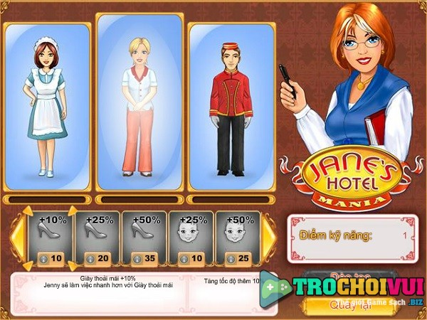 game Quan ly khach san 5 sao cua jane danh cho ban gai