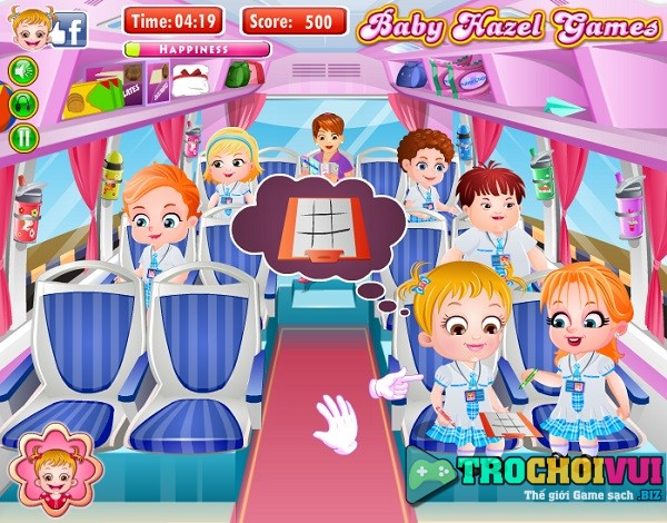 game baby Hazel di choi cong vien nuoc
