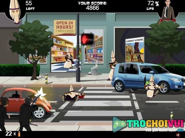 game Bao ve tong thong khoi trinh sat