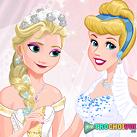 Công chúa Disney mặc váy cưới